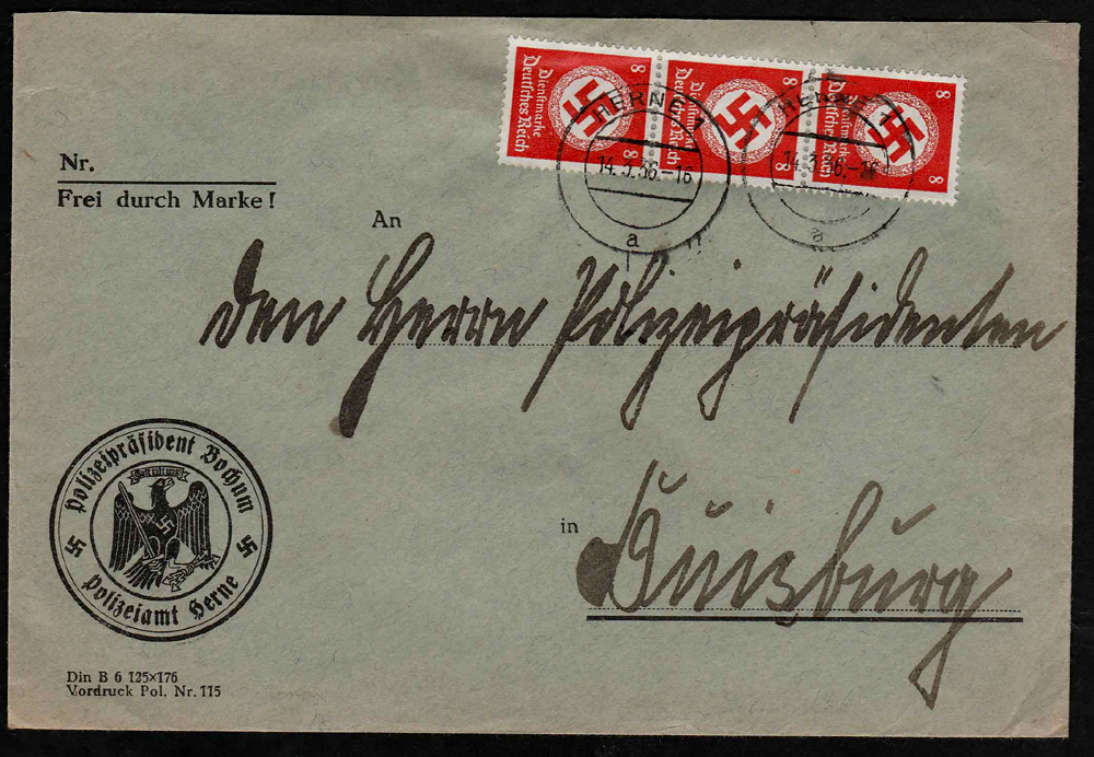 Third Reich Stamps, Third Reich Covers, Nazi Covers, Nazi Third Reich covers, Nazi Germany, Nazi Covers, Nazi, Third Reich, Nazi Stamps, Hitler, 3rd Reich, NSDAP, Nazi Germany